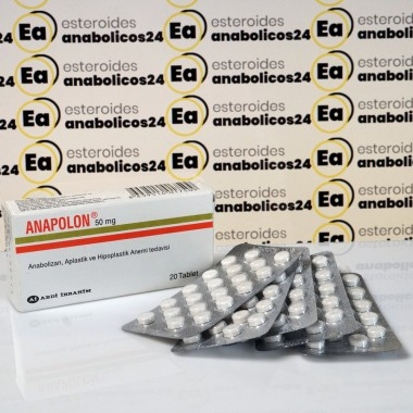 Anapolon (Oxymetholone) 50 mg Abdi Ibrahim | EA24-0001