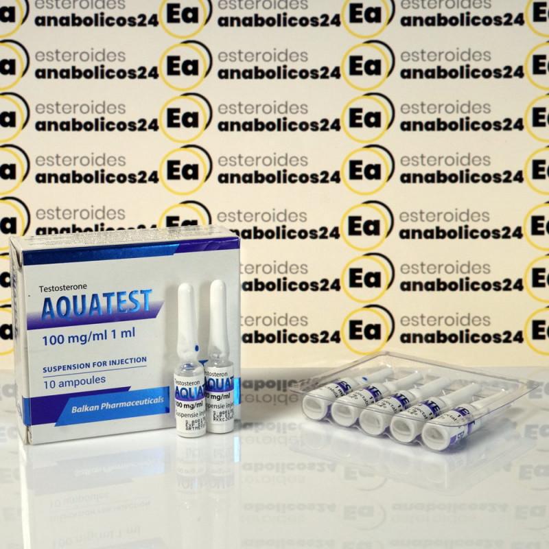 Aquatest 100 mg Balkan Pharmaceuticals | EA24-0083