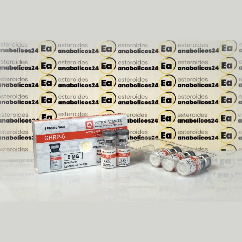 GHRP 6 5 mg Peptide Sciences   EA24-0184