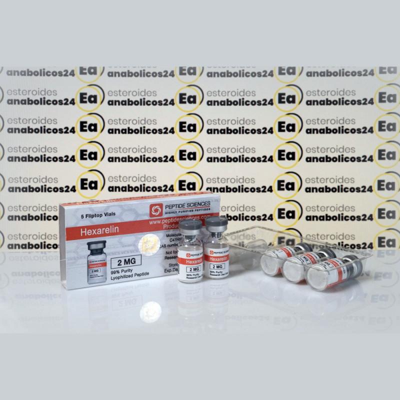 Hexarelin 2 mg Peptide Sciences | EA24-0185