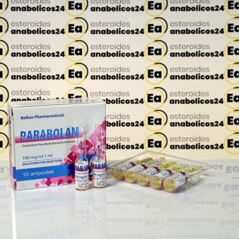 Parabolan 100 mg Balkan Pharmaceuticals   EA24-0025
