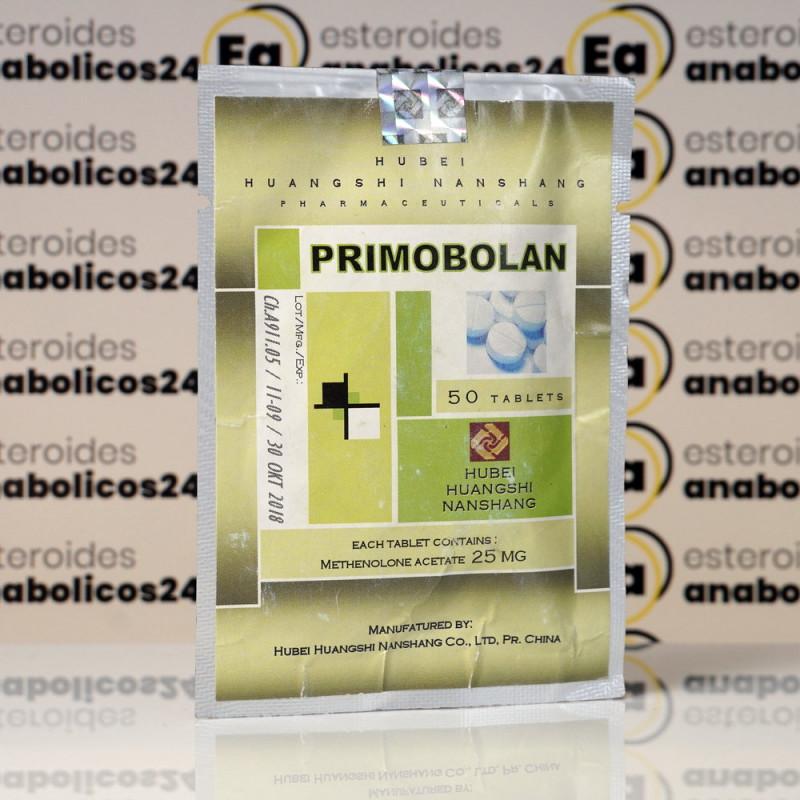 Primobolan (Methenolone Acetate) 25 mg Hubei Huangshi Nanshang | EA24-0030
