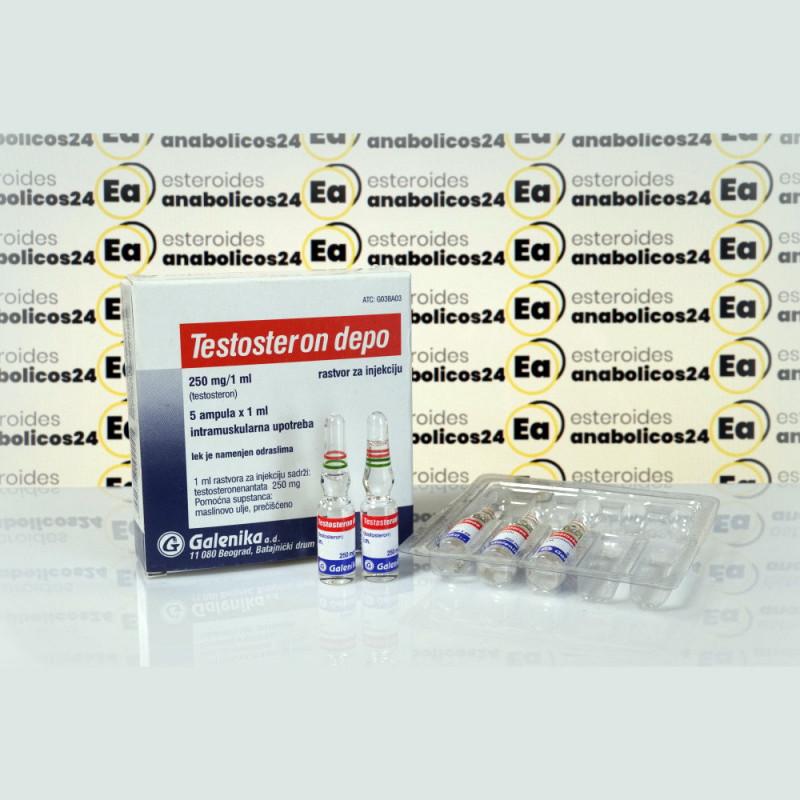 Testosteron Depo (Testosteron Enanthato) 250 mg Galenika   EA24-0156