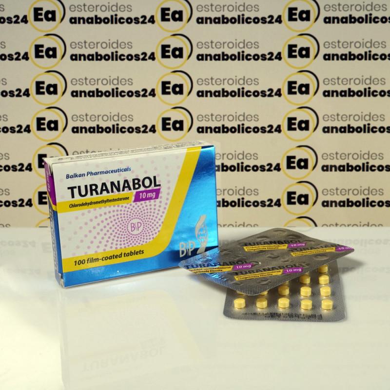 Turanabol 10 mg Balkan Pharmaceuticals | EA24-0095