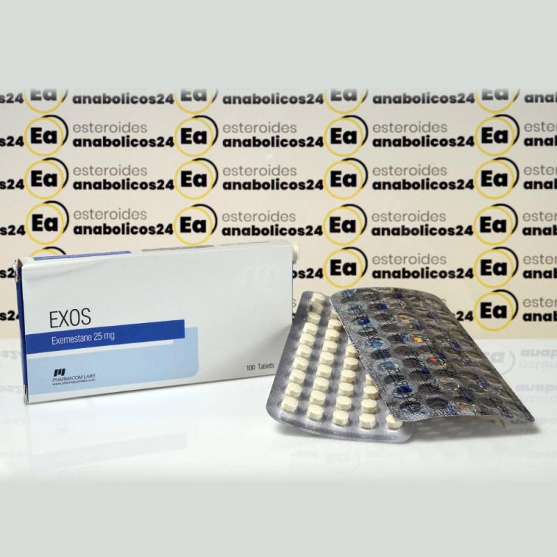 Exos 25 mg Pharmacom Labs | EA24-0283
