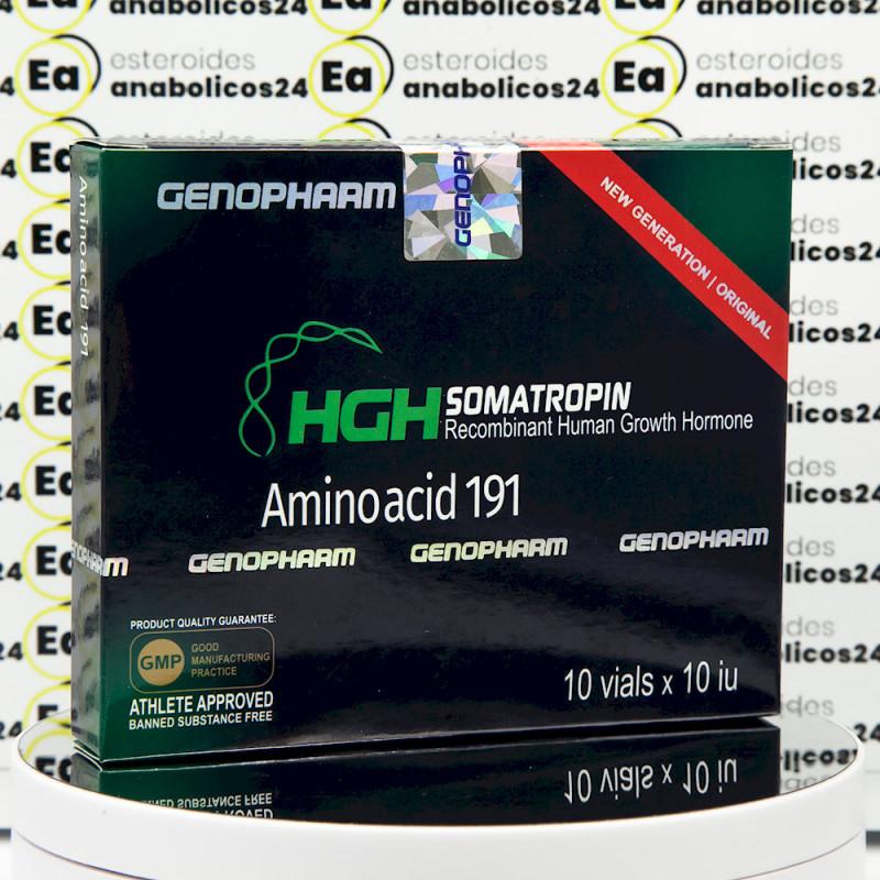 HGH Somatropin Amino acid 191 10 IU Genopharm | EA24-0290