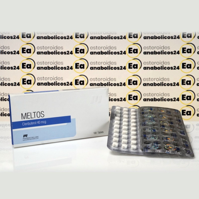 Meltos (Clenbuterolo) 40 mcg Pharmacom Labs | EA24-0280