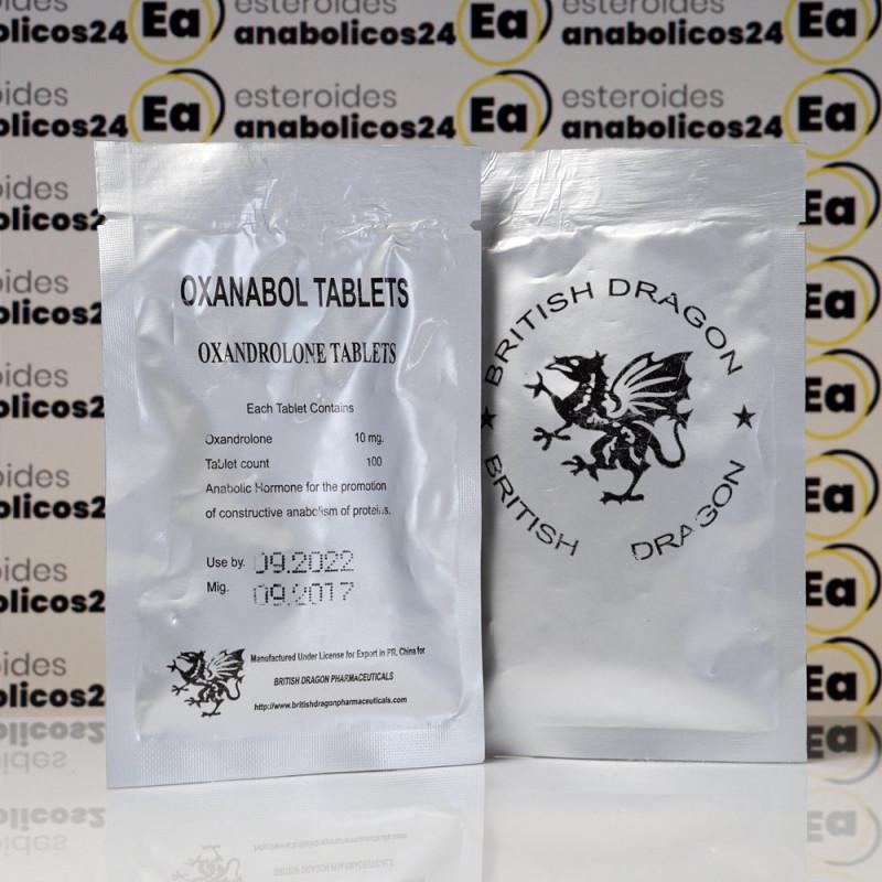 Oxanabol 10 mg British Dragon Pharmaceuticals   EA24-0196
