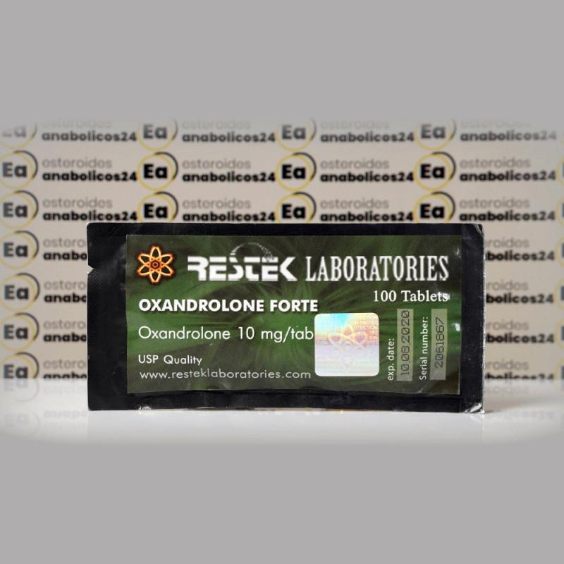 Oxandrolone Forte 10 mg Restek Laboratories   EA24-0199