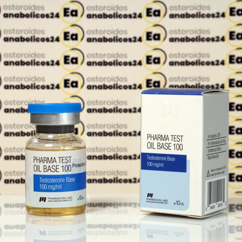 Pharma Test Oil Base 100 mg Pharmacom Labs   EA24-0251