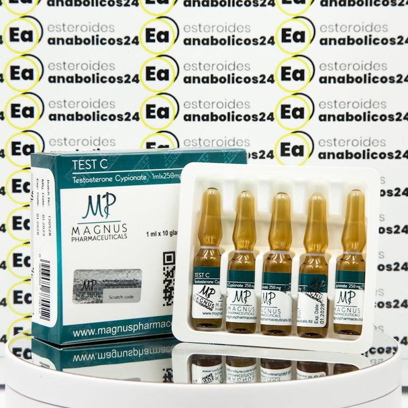 Test C ( Testosterone Cypionate) 250 mg Magnus Pharmaceuticals | EA24-0260